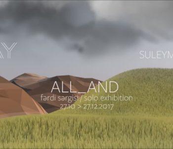 Выставка Замира Сулейманова «ALL_AND»