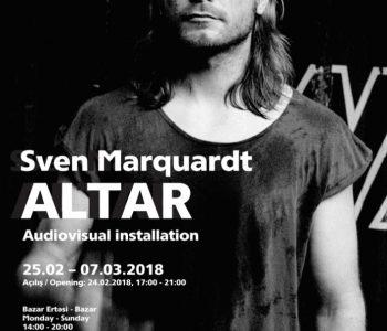 Выставка Свена Марквардта «Алтарь»