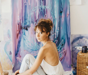 WoWoman Baku: Art & Meditation Masterclass с Сашей Годяевой